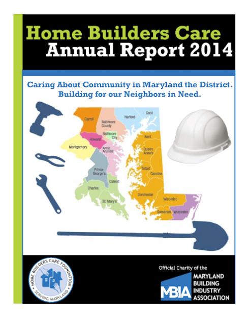HBCF Annual Report 2014